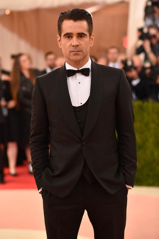 Actor Colin Farrell attends the