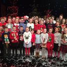 The children from St Cronan's national school