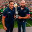 Pat Lam and John Muldoon Photo: Diarmuid Greene/Sportsfile