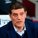 Slaven Bilic: 'Somewhere down the line, since pre-season, we lost our intensity in training. Our intensity, and our dedication to the cause, is missing' Photo: JUSTIN TALLIS/AFP/Getty Images