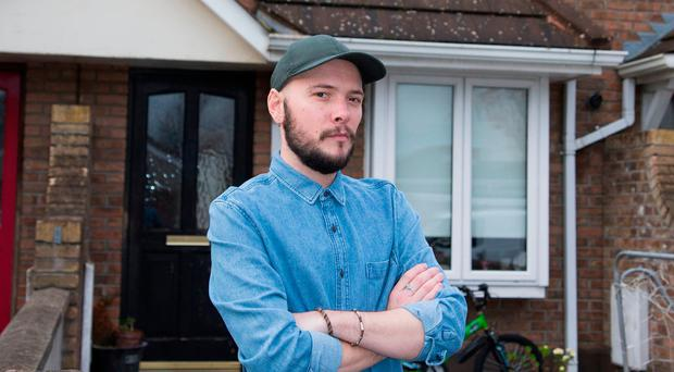 A young father warned Ireland's housing crisis is now crucifying hard-working families who cannot afford to either rent or buy a home.