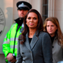 Gina Miller leaves the UK supreme court after the first day of the challenge – it was her legal challenge to Brexit that triggered the current supreme court case. Photo: Victoria Jones/WPA Pool/Getty Images