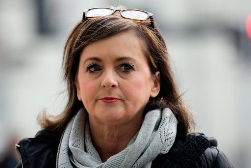 Donna Foster said she 'honestly believed' she was about to die when she was attacked by her partner Patrick O'Rourke, who was sentenced to nine years in jail for the brutal assault Pic: Courtpix