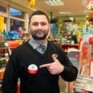 Usman Khalid (30) Smithfield at Spar Store at the Top Service Station on Amiens Street, Dublin