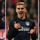 This combination of picture made on December 1, 2016 shows (fromL) Real Madrid's Portuguese forward Cristiano Ronaldo celebrating a goal during the Spanish league football match between Club Atletico de Madrid and Real Madrid CF at the Vicente Calderon stadium in Madrid, on November 19, 2016, Atletico Madrid's French forward Antoine Griezmann celebrating after scoring during the UEFA Champions League semi-final, second-leg football match between FC Bayern Munich and Atletico Madrid in Munich, southern Germany, on May 3, 2016, and Barcelona's Argentinian forward Lionel Messi celebrating a goal during the UEFA Champions League football match FC Barcelona vs Manchester City at the Camp Nou stadium in Barcelona on October 19, 2016. Fifa announced on December 2, 2016 that Real Madrid's Portuguese forward Cristiano Ronaldo, Atletico Madrid's French forward Antoine Griezmann and Argentinian forward Lionel Messi are the final nominees for The Best FIFA Men's Player Award. / AFP (Photo credit should read LLUIS GENE,LUKAS BARTH,GERARD JULIEN/AFP/Getty Images)