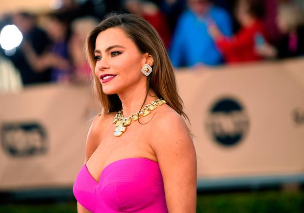 Actress Sofia Vergara attends The 22nd Annual Screen Actors Guild Awards at The Shrine Auditorium on January 30, 2016 in Los Angeles, California. 25650_015 (Photo by Jason Merritt/Getty Images for Turner)