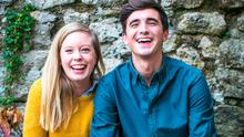 Joint ambition: Sofie Larsson and husband Donal Skehan. Photo: Marc Dillon