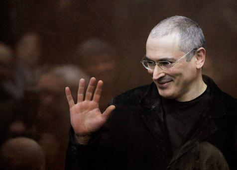 Former Russian oligarch Mikhail Khodorkovsky is pursuing billions seized from him after his arrest in 2003. Photo: Reuters