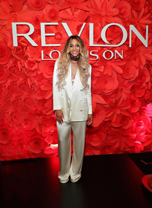 Singer Ciara attends the Revlon x Ciara launch event in New York