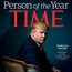 The cover of 'Time' magazine. Photo: Reuters