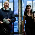 Retired Marine General John Kelly arrives at Trump Tower to meet US president-elect Donald Trump. Photo: Reuters