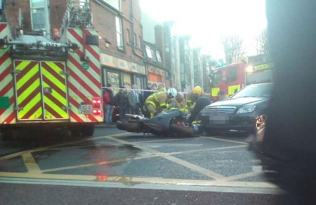 Scene of an incident in Rathmines (Photo: Cian Murray)