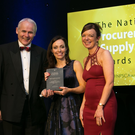 "For the Best use of Technology in Procurement category, Manor Farm took the accolade for ""Agrologic Chick Scale and Handheld Auditing System"""