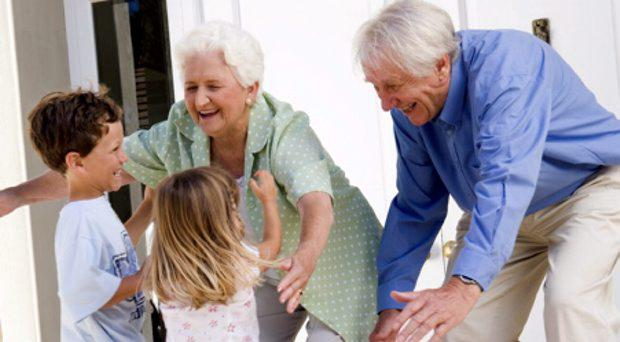 Grandparents' contribution to supporting families has been consistently underestimated, according to research by academics in Trinity College Dublin. Stock photo.