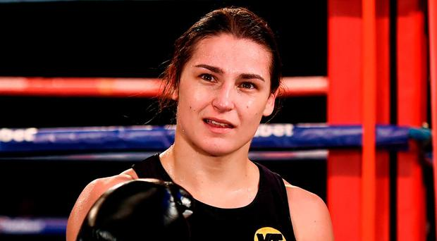 Ireland's Katie Taylor. Photo: Stephen McCarthy/Sportsfile