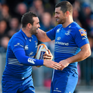 The dream for many at Dundalk is to follow Dave and Rob Kearney's Leinster lead. Photo: Sportsfile