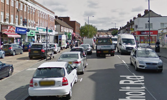 Northolt Road, Harrow, Pic via Google Maps