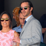 Pippa Middleton and James Matthews attend day nine of the Wimbledon Tennis Championships at Wimbledon on July 06, 2016 in London, England. (Photo by Karwai Tang/WireImage)