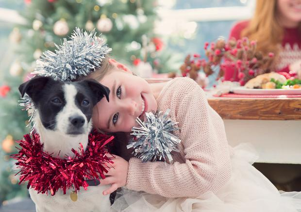 Giving something to those less fortunate can help to calm and open children's minds to the true meaning of Christmas.