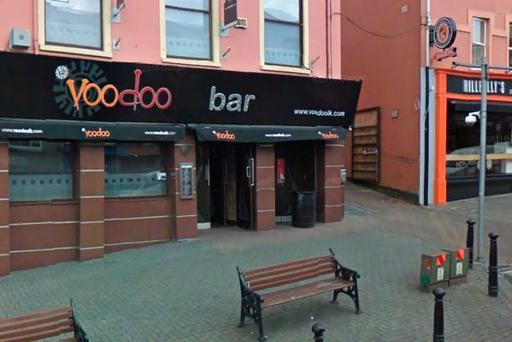 Voodoo venue in Letterkenny, Donegal (Photo: Google Maps)