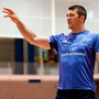 Having missed much of the November series after injury, Peter O'Mahony – here in training at UL this week – will be keen to hit the ground runnning with Munster today. Photo: Matt Browne/Sportsfile