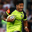 Leicester star Manu Tuilagi runs with the ball. Photo: David Rogers/Getty Images