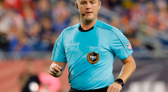 Alan Kelly, who will referee the MLS final betwen Toronto and Seattle, is enjoying life in the USA. Photo: Getty