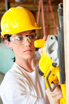 Many are doing DIY projects (Stock picture)