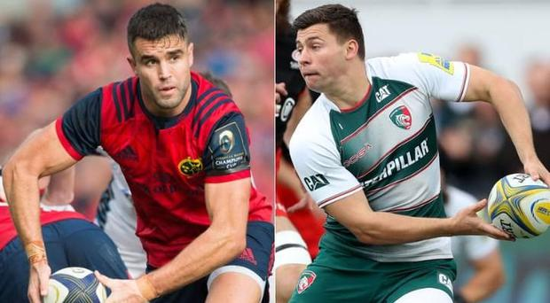Conor Murray and Ben Youngs CREDIT: GETTY IMAGES