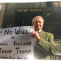 John Vianney Lennon outside Trump Tower on Fifth Avenue in Manhattan