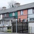Saint Patrick'sTerrace, Sligo where the deceased man lived alone. Photo: Carl Brennan.