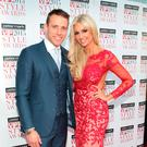 Wesley Quirke and Rosanna Davison at the 2015 VIP Style Awards. Photo: Brian McEvoy