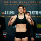 Katie Taylor during the weigh-in Action Images via Reuters / Andrew Couldridge