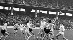 Hetyday: The Ulster v Connacht, Railway Cup Football Final of 1971 attracted a full house to Croke Park. Photo: Sportsfile