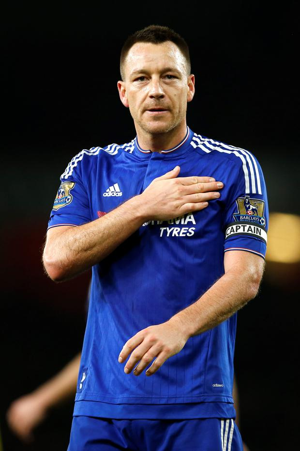 John Terry has always been an inspirational figure for Chelsea, but the clock is ticking. Photo: Reuters