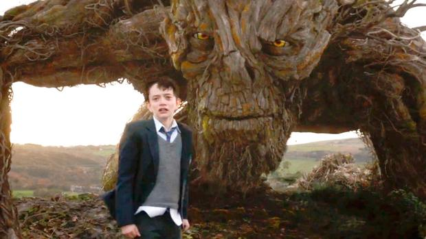Newcomer Lewis MacDougall gives an effortlessly outstanding performance as Conor in A Monster Calls