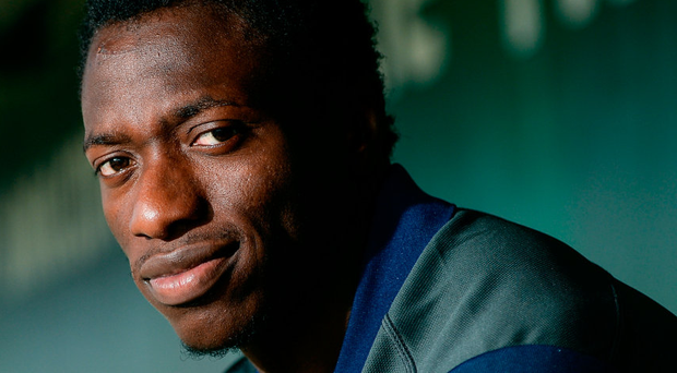 Niyi Adeolokun: 'I was disappointed when I got cut by Leinster . . . I didn't even play [competitively] for Leinster underage'. Photo: Seb Daly/Sportsfile