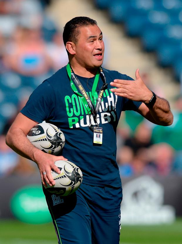 Connacht's head coach Pat Lam will join Bristol as their new head coach in June. Photo: Jane Barlow/PA