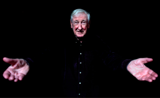 John Montague pictured in 2009. Three times married, he refused to let his early hardships blight his adult years. Photo: Gerry Mooney