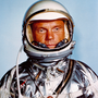 Astronaut John Glenn in his Mercury flight suit. Photo: NASA via AP