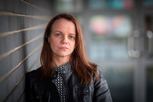 Gabrielle Cummins says Sheila Vereker at the Waterford Rape and Sexual Centre gave her the strength to get back to work. Photo: Dylan Vaughan