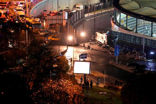 Blast in Istanbul leaves at least 20 injured