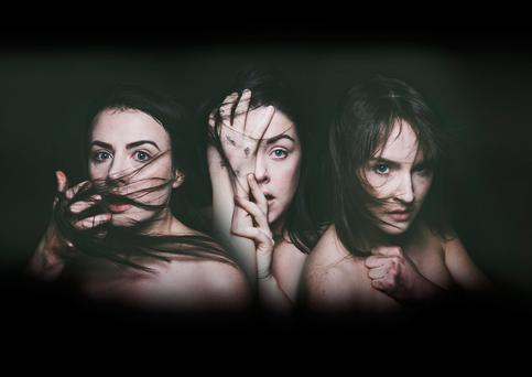 Chilling performances by Aisling O'Meara, Amilia Stewart and Katie Honan in Murder of Crows