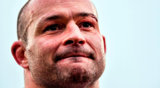 Ulster's Rory Best following their victory in the European Rugby Champions Cup Pool 5 Round 3 match between Ulster and ASM Clermont Auvergne at the Kingspan Stadium in Belfast. Photo by Ramsey Cardy/Sportsfile