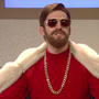 Alex Moffatt spoofs Conor McGregor in SNL 'Where'd Your Money Go?' game show skit