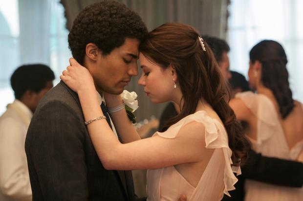 Anya Taylor-Joy and Devon Terrell in Barry