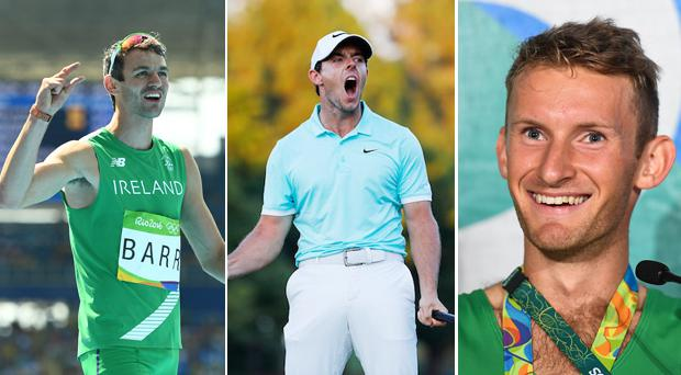 Thomas Barr, Rory McIlroy and Paul O'Donovan all missed out on being shortlisted