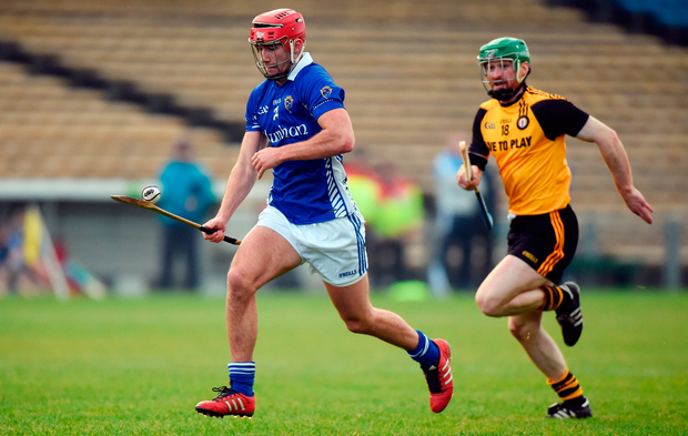 Barry Nash of Munster in action against Conor O'Prey of Ulster. Photo by Matt Browne/Sportsfile
