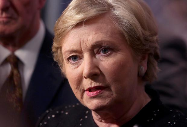 Tanaiste and Justice Minister Frances Fitzgerald met with the woman in 2015 and wrote to her in August 2016. Photo: Damien Eagers