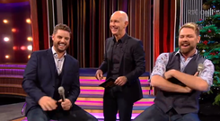 Keith Duffy and Brian McFadden on the Ray D'Arcy Show